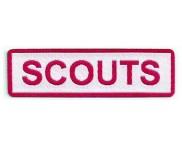 Pat SCOUTS - 12 peças - 2 x 7,2 cm