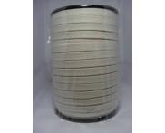 Cadarço 100% Algodão - 12 mm - Chato  Ref. STR 131 - Cru - 100 mts