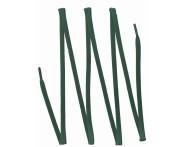 Cadarço Algodão Encerado Chato 7mm - 150 cm - Bandeira - Pct 144 peças