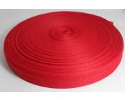 Fita ESP - 100% Poliéster 25 mm - Rolo 100 metros - Vermelho