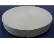 Cadarço 100% Algodão - 40 mm - Cru - Ref. LONA - 25 mts