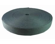 Cadarço 25 mm TRAMA - Cinza  - 50 metros