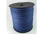 Cadarço 100% Algodão - 5 mm - Chato Ref. 32 250  - MARINHO - 250 mts