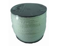 Cadarço 100% Algodão - 6 mm - Chato Ref. 8 - Cru - 100 mts