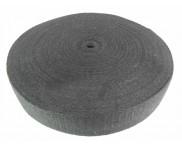Cadarço 100% Algodão - 40 mm - Preto - Ref. LONA - 25 mts