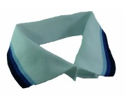 Gola Polo 100% Poliéster Mod. 503  Branco / Azul / Roy. / Mar - 10 pçs