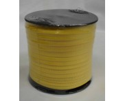 Cadarço Poliéster de 10 mm - AMARELO - Rolo 50 metros